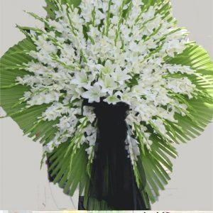 تاج گل یک طبقه بزرگ گل آوا در کرج